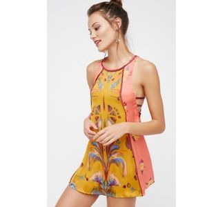 Free People Dream Printed Tunic Dress